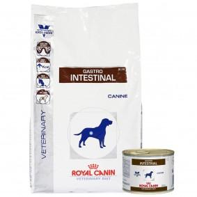 Royal Canin Vet Diet Gastro Intestinal GI 25 7,5kg + 12x200g
