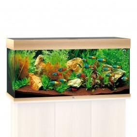 Juwel Rio 180 LED Komplett Aquarium ohne Schrank helles holz