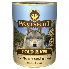 Wolfsblut Cold River mit Forelle