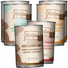 MjAMjAM Mixpaket V Purer Fleischgenuss 6x400g