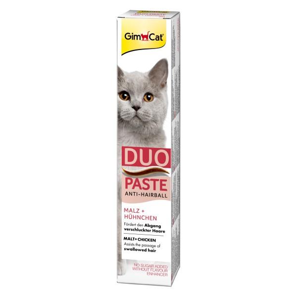GimCat Anti-Hairball-Duo-Paste Hühnchen + Malz