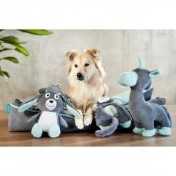 ZooRoyal Hundespielzeug Einhorn Anthrazit