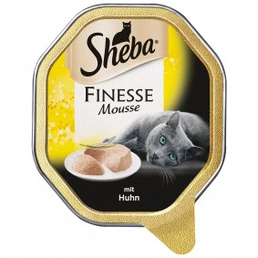 Sheba Katzenfutter Finesse Mousse Huhn