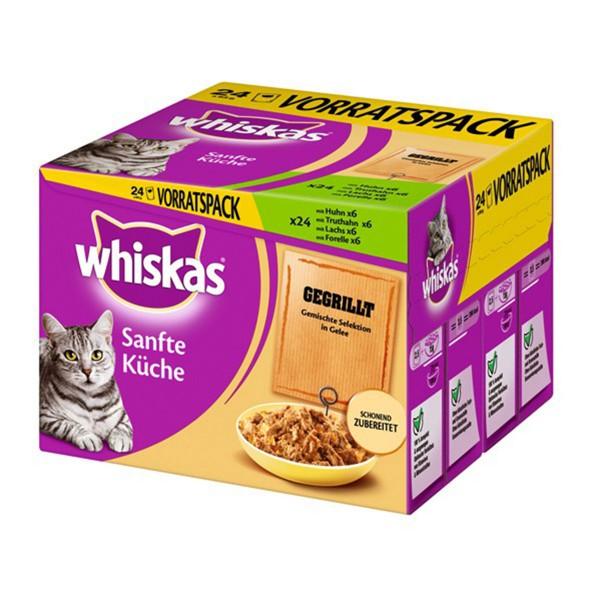 Whiskas Sanfte Küche Gegrillte Selektion 24x85g