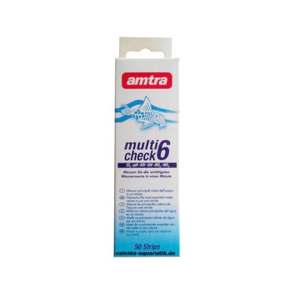 Amtra Multicheck 6 in 1 Teststreifen zum tauchen