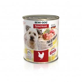 Bewi Dog Hunde-Fleischkost Reich an Huhn
