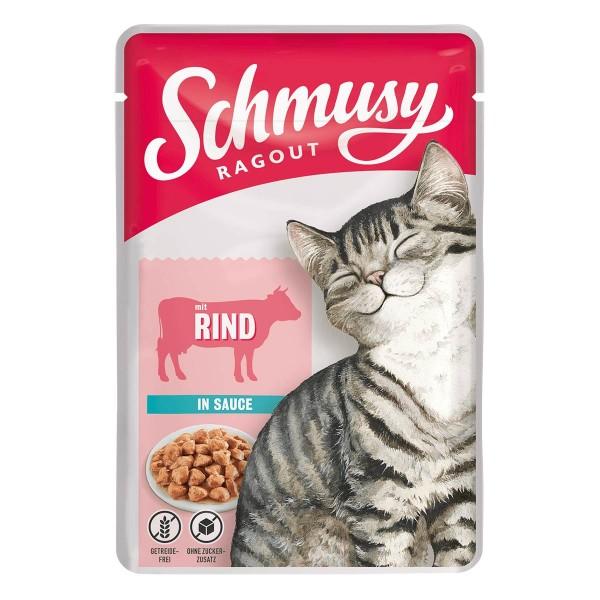 Schmusy Ragout mit Rind in Sauce