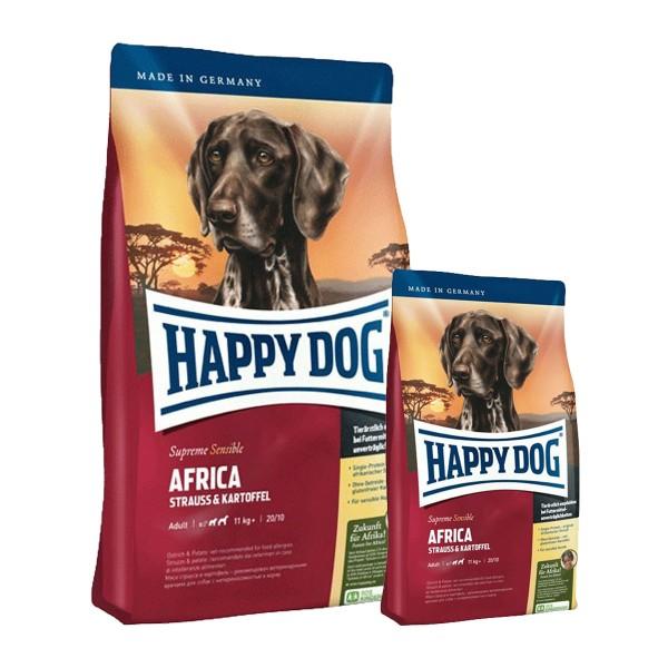 Happy Dog Supreme Sensible Afrika 12,5kg + 2x1kg Gratis