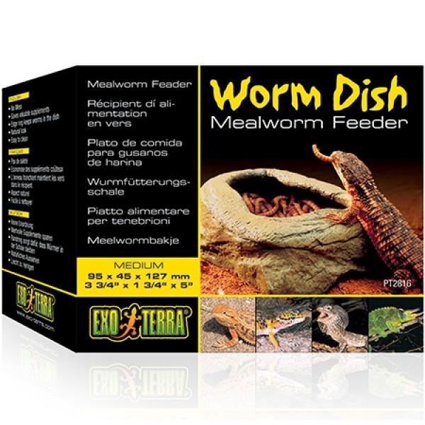 Exo Terra Worm Dish Wurmfutterschale