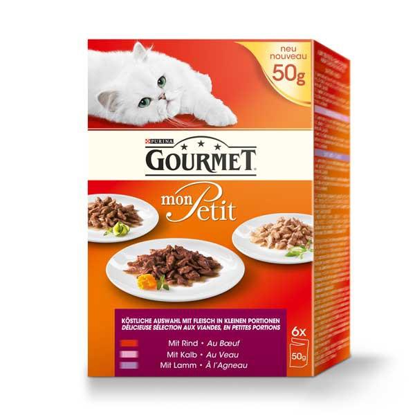Gourmet Mon Petit Fleisch Variationen 6x50g