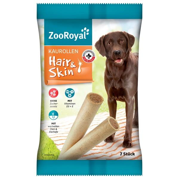 ZooRoyal Hundesnack Kaurollen Hair & Skin