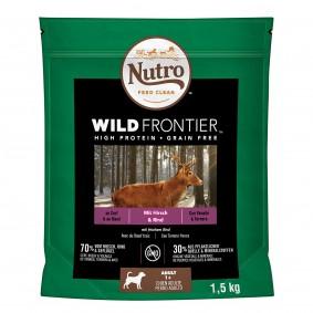 Nutro Adult Wild Frontier mit Hirsch und Rind