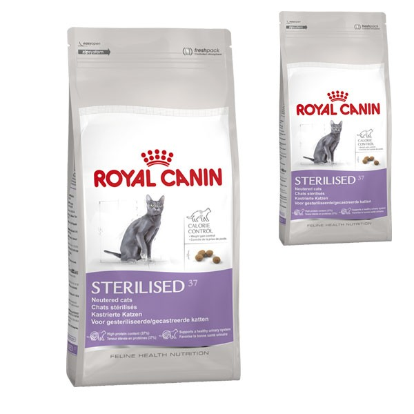 royal canin katzenfutter sterilised 37 4 kg 400 g gratis. Black Bedroom Furniture Sets. Home Design Ideas