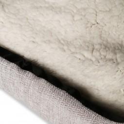Trixie Kuschelhöhle Silas 40×45×40cm grau/creme