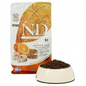 N&D Katzenfutter Adult getreidearm Kabeljau und Orange