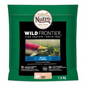 Nutro Junior Wild Frontier s lososem a bělicí 1,5kg