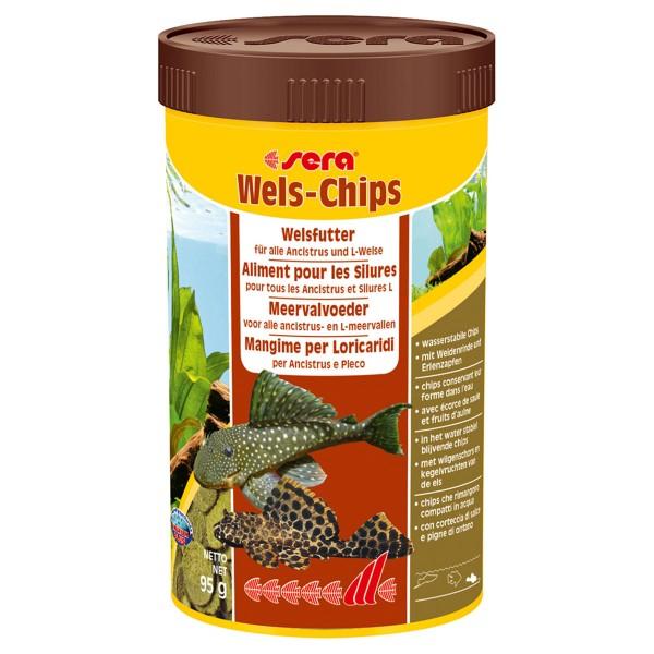 Sera Wels-Chips Fischfutter