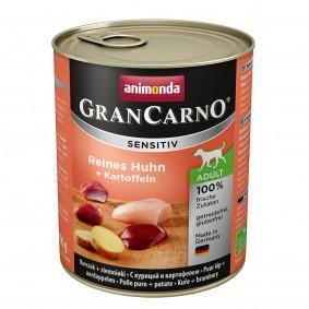 Animonda Nassfutter Grancarno Sensitiv Huhn & Kartoffel 12x800g