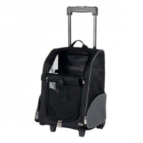 TRIXIE Tbag Trolley 36×50×27cm aus Nylon schwarz