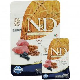 N&D Lamm&Heidelbeeren Adult getreidefrei 1,5kg + 300g GRATIS