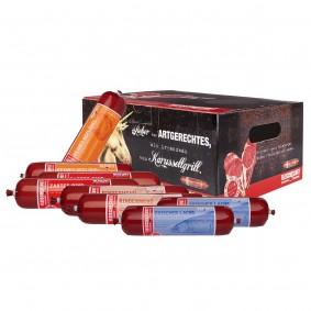 Fleischeslust gemischte Futterbox Classic 8x400g
