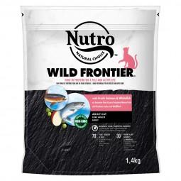 NUTRO WILD FRONTIER Katze mit Lachs & Weißfisch