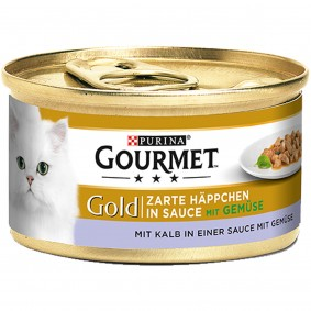 Gourmet Gold Zarte Häppchen Kalb&Gemüse