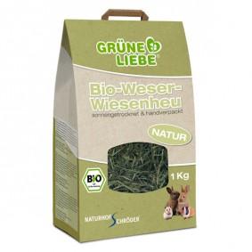 Naturhof Schröder Grüne Liebe Bio-Weser-Wiesenheu 1 kg