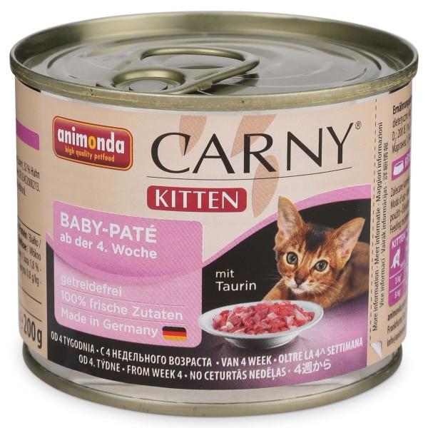 animonda katzen nassfutter carny kitten baby pat bei zooroyal. Black Bedroom Furniture Sets. Home Design Ideas