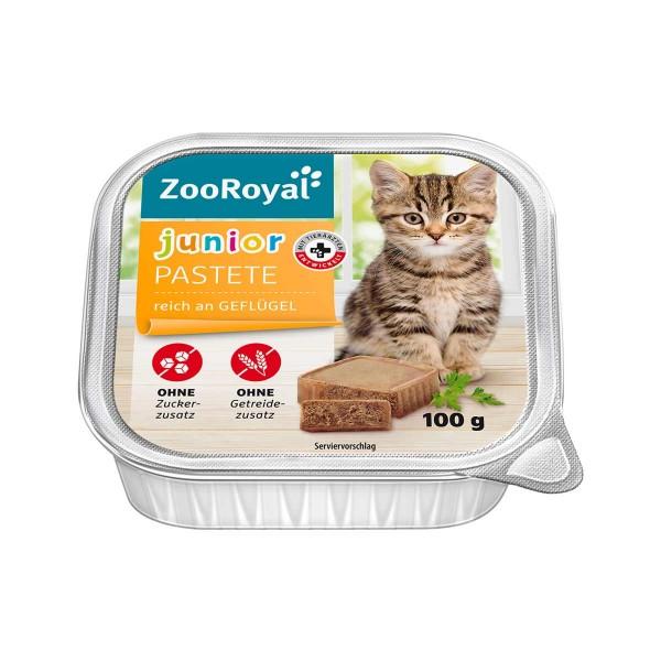 ZooRoyal Pastete Junior Geflügel