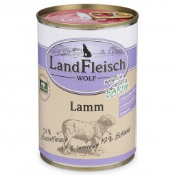 Landfleisch Dog Hundefutter Wolf Sensibel Lamm
