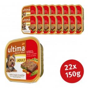 Ultima Dog Nassfutter Adult Rind und Gemüse