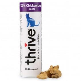 thrive 100% Hühnerleber Katzensnack 25g