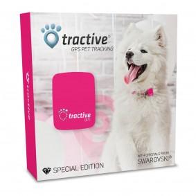 Tractive GPS Special Edition mit Kristallen von Swarovski®