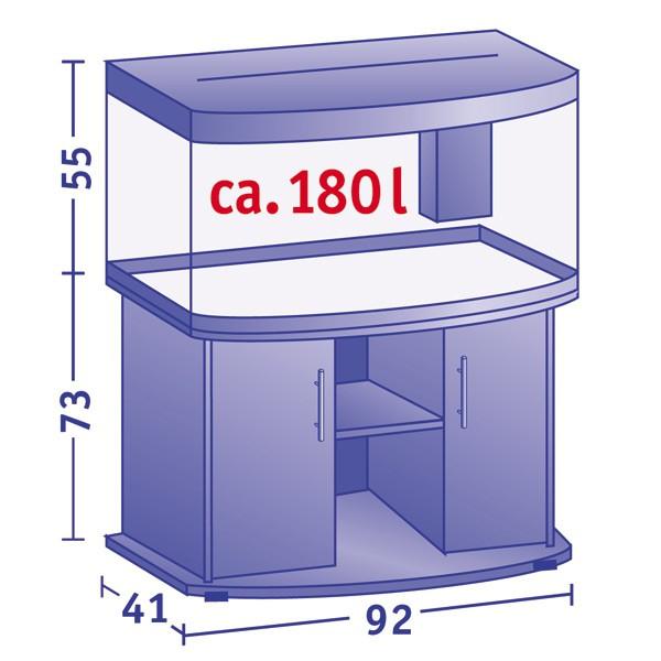 Aquarium Vision 180 - Kombination - buche