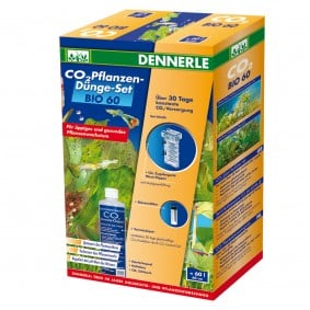 Dennerle Kit de fertilisation des plantes au CO2 BIO 60