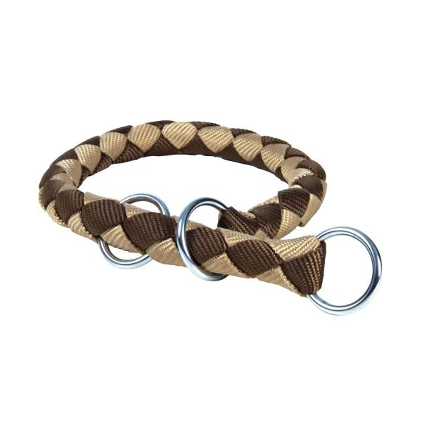 Trixie Halsband Cavo Würger braun/beige