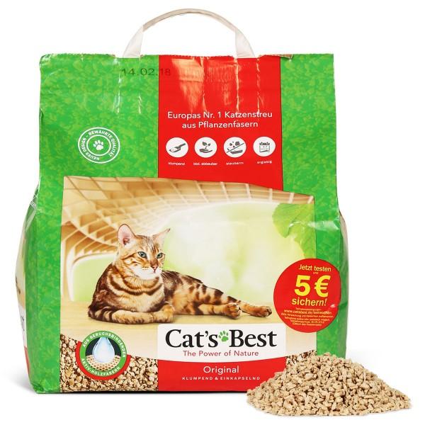Cats Best Original Katzenstreu - 10l