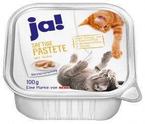 ja! Katzennassfutter Mixpaket Saftige Pastete