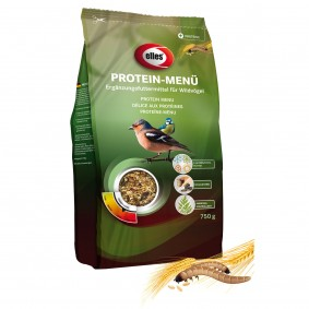 "elles Wildvogel-Streufutter ""Protein-Menü"" 750 g"