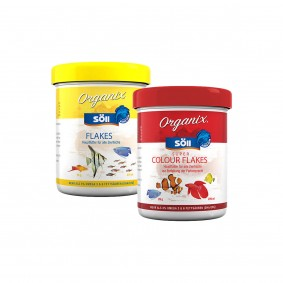 Söll Probierpaket Organix Flakes + Super Colour Flakes 130ml