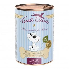 Terra Canis für Welpen Rind mit Apfel, Karotte und Hagebutte