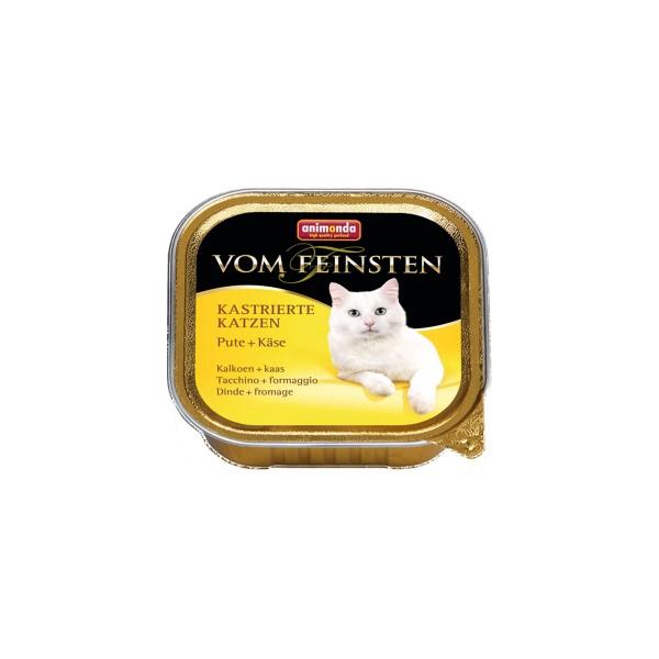 Animonda Vom Feinsten für kastrierte Katzen Pute und Käse 100g