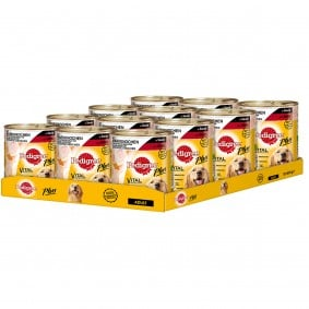 Pedigree Plus Markknochen mit Rind in Sauce