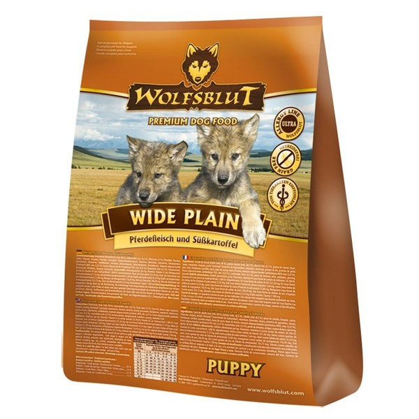 Wolfsblut Wide Plain Puppy Pferd & Süßkartoffel