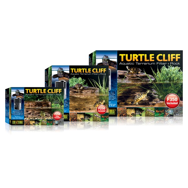 Exo Terra Turtle Cliff Filter Felsen