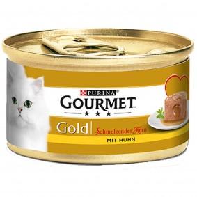 Gourmet Gold Schmelzender Kern mit Huhn 9+3 GRATIS