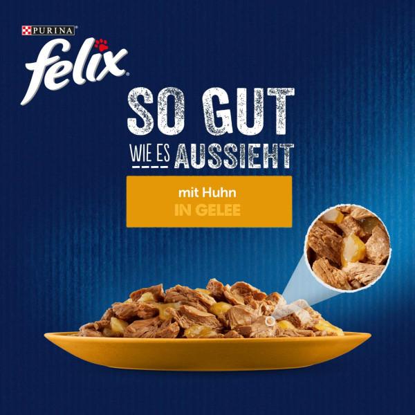 FELIX So gut wie es aussieht in Gelee mit Huhn