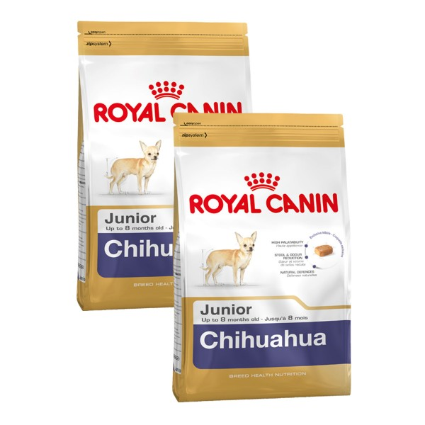royal canin chihuahua junior g nstig kaufen bei zooroyal. Black Bedroom Furniture Sets. Home Design Ideas