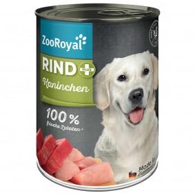 ZooRoyal Rind + Kaninchen 400g